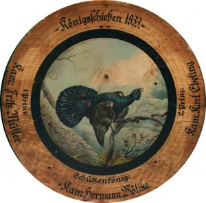 Schützenscheibe 1933